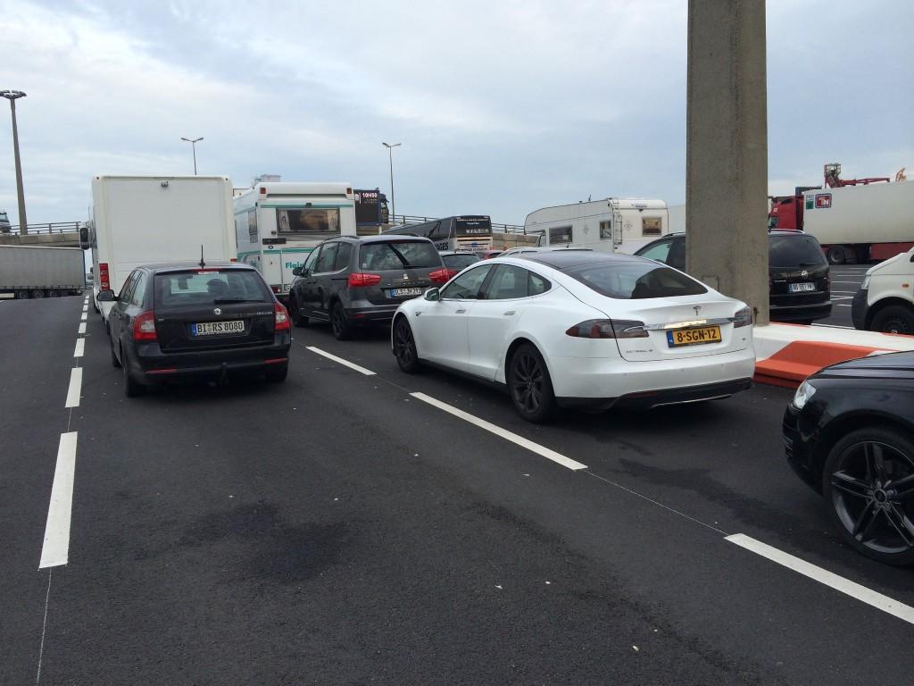 At Calais Port