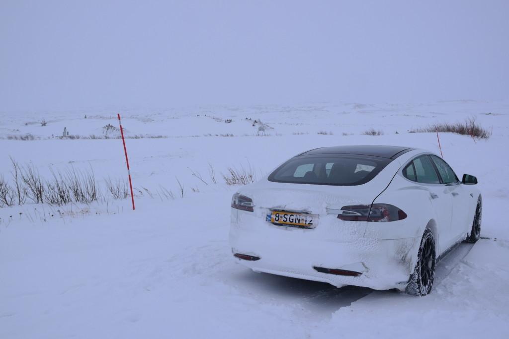 Parked Arctic Circle