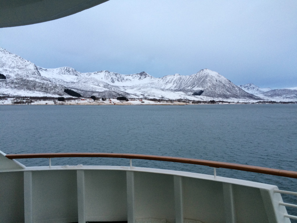 View from Hurtigruten
