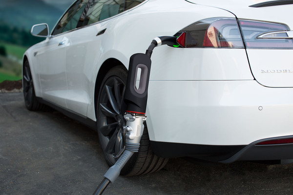 Tesla CHAdeMO adapter