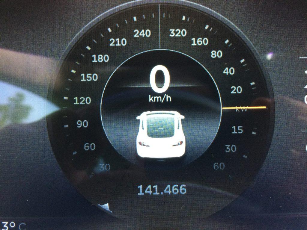 Tesla Model S 141k km