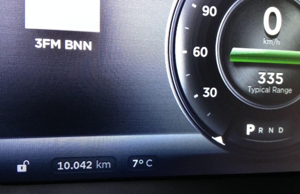Tesla Model S 10k km