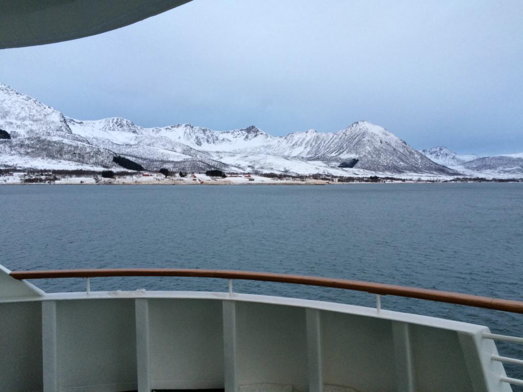 View from Hurtigruten