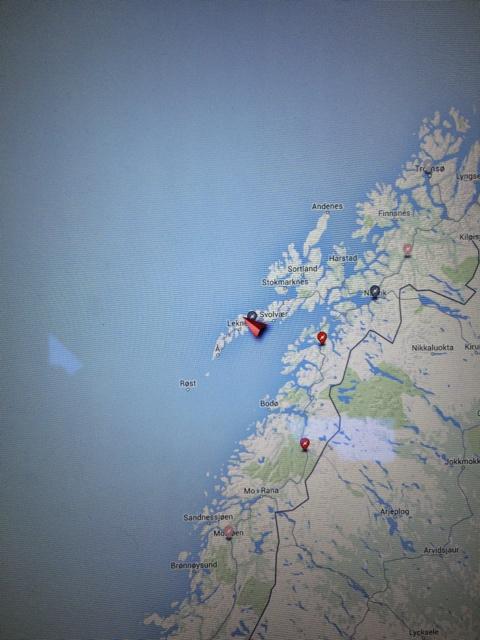 Charging POI on Lofoten