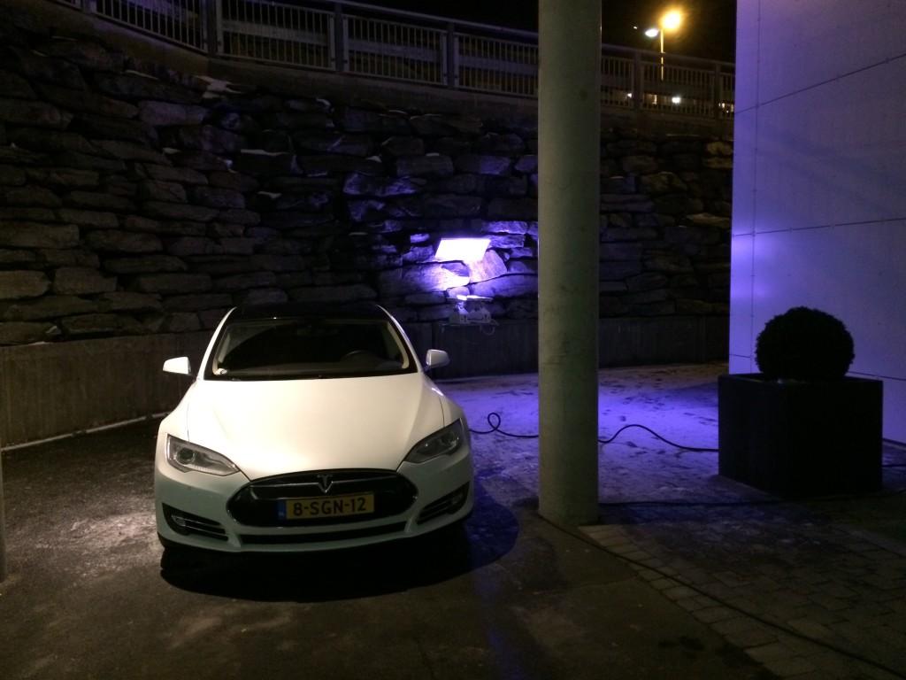 Charging at Scandic Hotel Narvik
