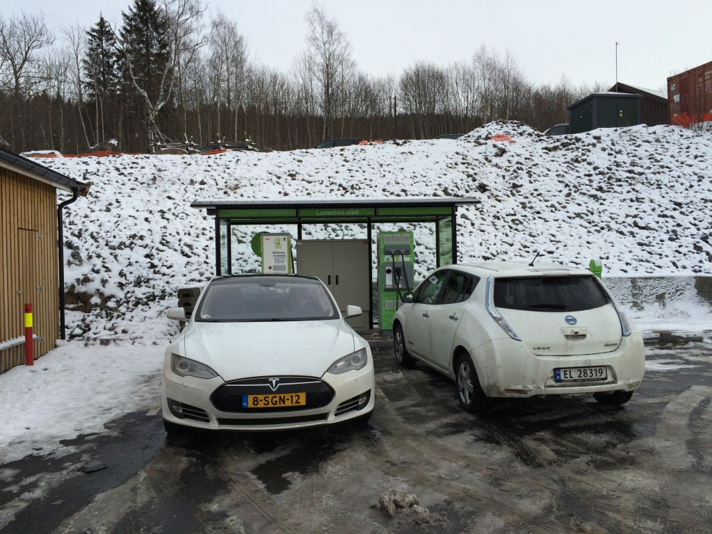 Fortum CHAdeMO charger