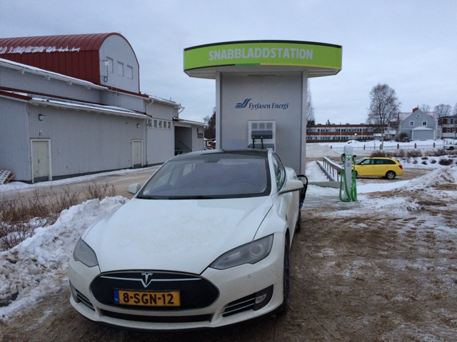 Green Highway charger in Sveg